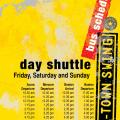 shuttle plan for the day